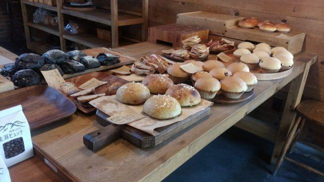 生瀬ヒュッテの予約したパン達