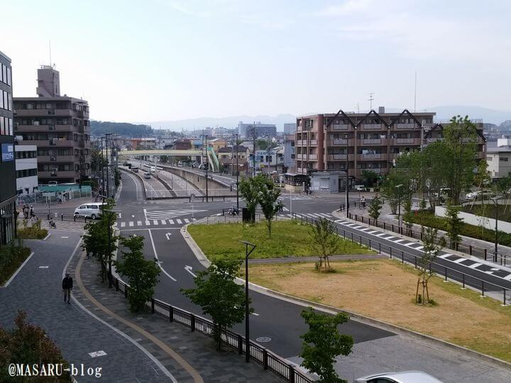 VIERRA(ビエラ)岸辺健都付近の道路の写真