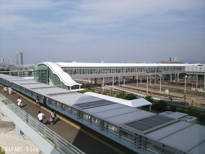 JR岸辺駅の風景