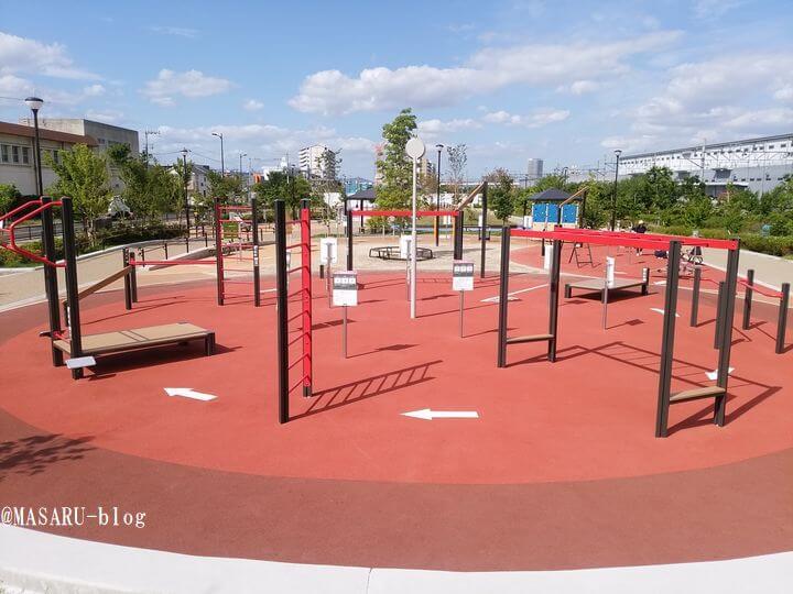 健都レールサイド公園の外観写真