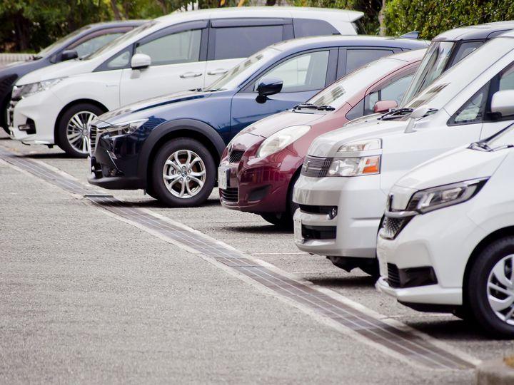 宜野湾トロピカルビーチの駐車場