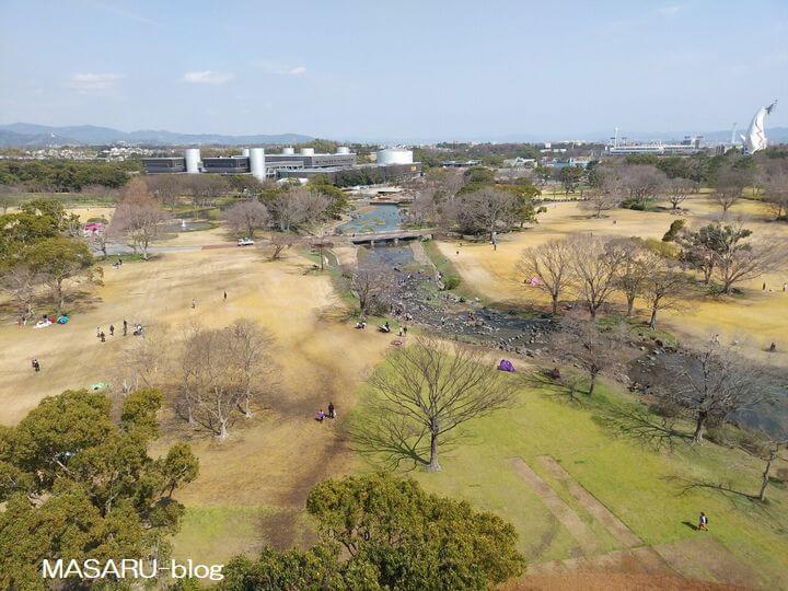 天空回廊からの風景