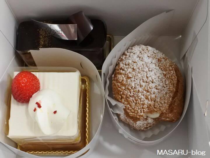 茨木市のジャマンのケーキ