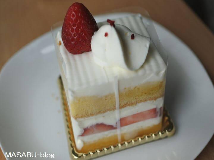 ジャマンのイチゴのショートケーキ