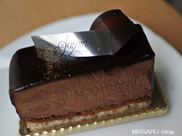 パティスリージャマンのチョコレートケーキ