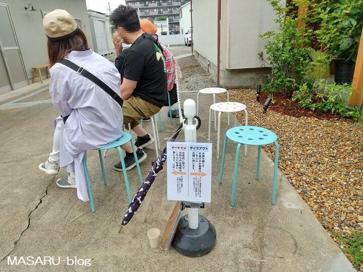 らんらん茨木店の開店前に並ぶ人々