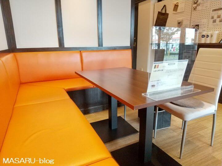レオニダス箕面小野原店のカフェ