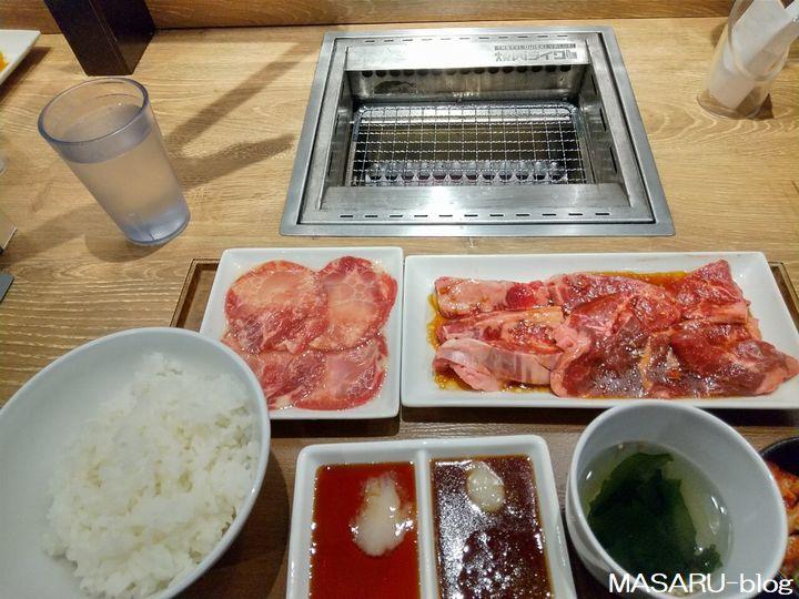焼肉ライク大阪福島店のランチセット
